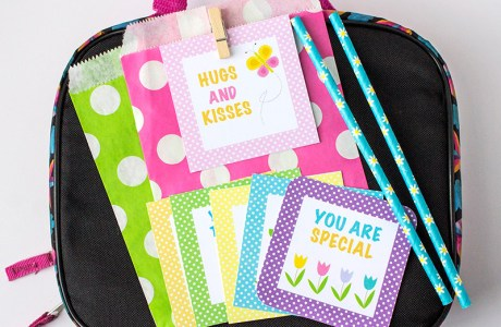 Spring Lunch Box Notes Printable