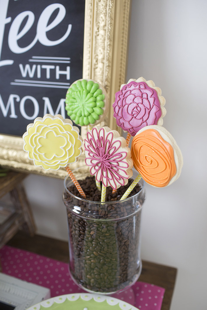 Mother's Day Coffee With Mom, with Tiny Prints | www.celebrationlane.com
