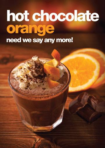 hot chocolate orange