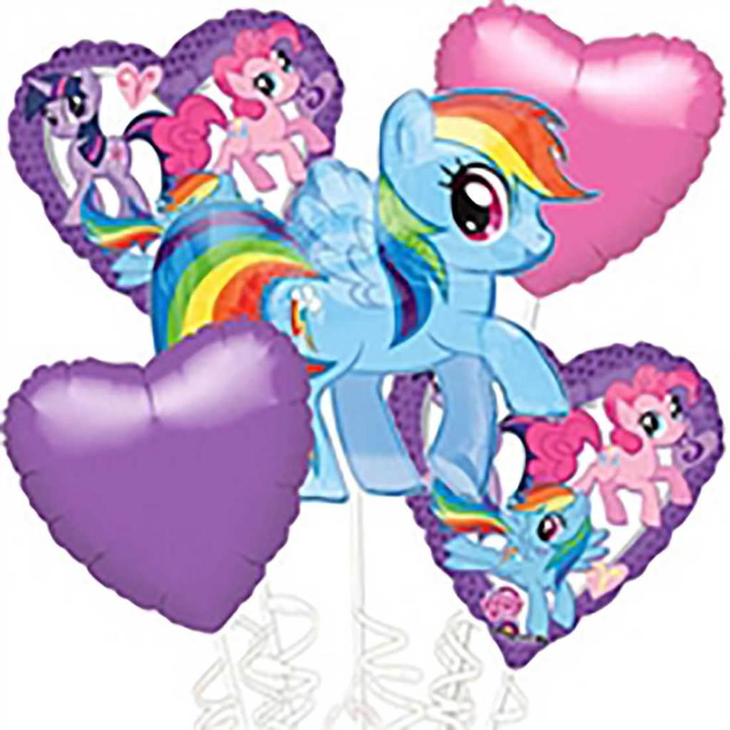 little pony foil balloon