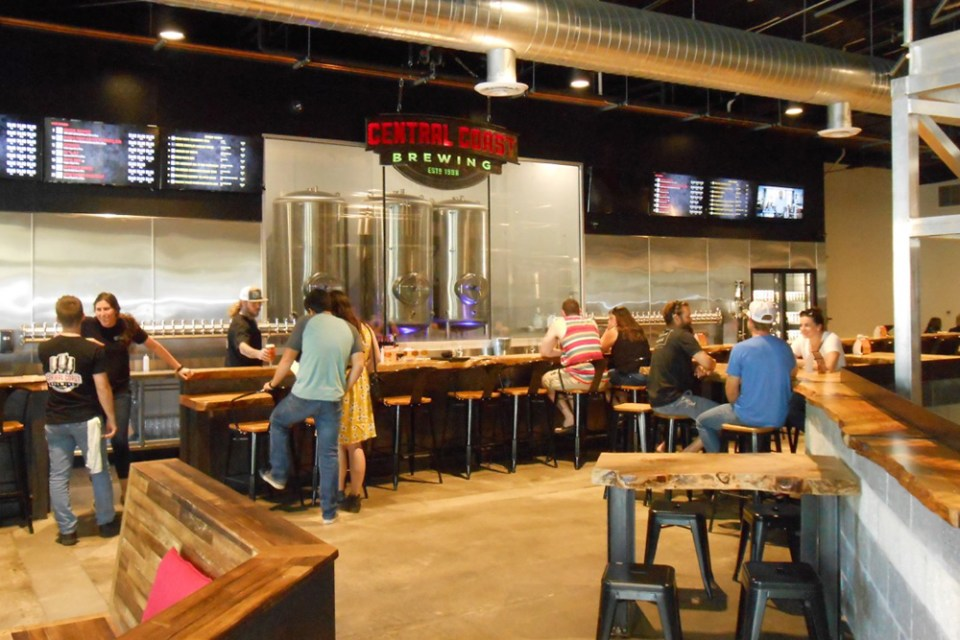 Central Coast Brewing in San Luis Obispo Gets a New Home