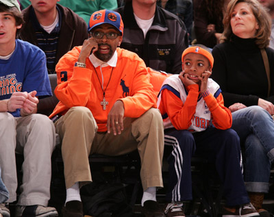 Spike Lee &  son