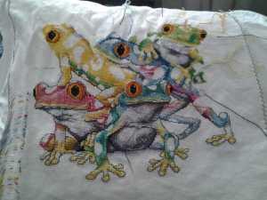 der fünfte Frosch