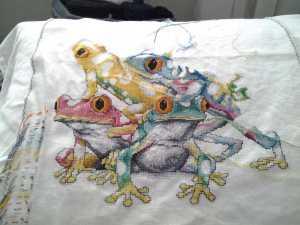 der vierte Frosch