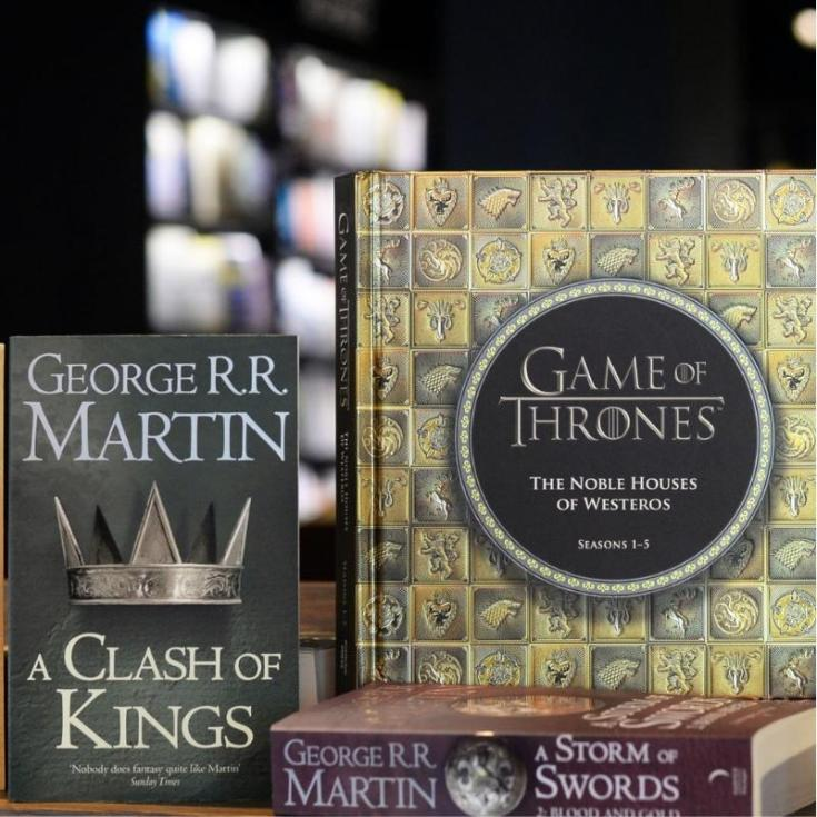 game of thrones books in order