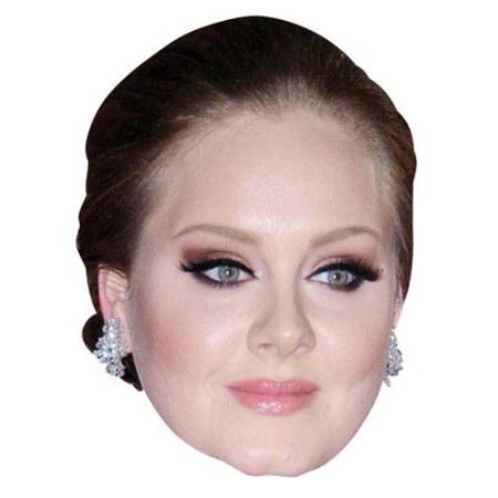 A Cardboard Celebrity Big Head of Adele