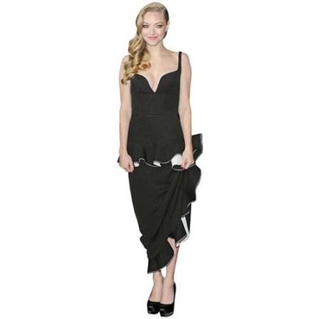 Amanda Seyfried Long Dress Cardboard Cutout