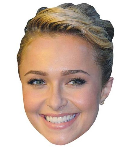 A Cardboard Celebrity Big Head of Hayden Panettiere