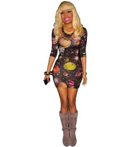Nicki Minaj Blonde Cardboard Cutout