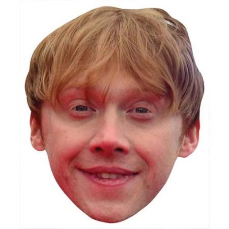 A Cardboard Celebrity Big Head of Rupert Grint