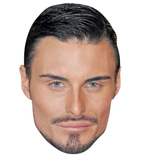 A Cardboard Celebrity Big Head of Rylan Clark