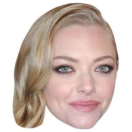 A Cardboard Celebrity Big Head of Amanda Seyfried