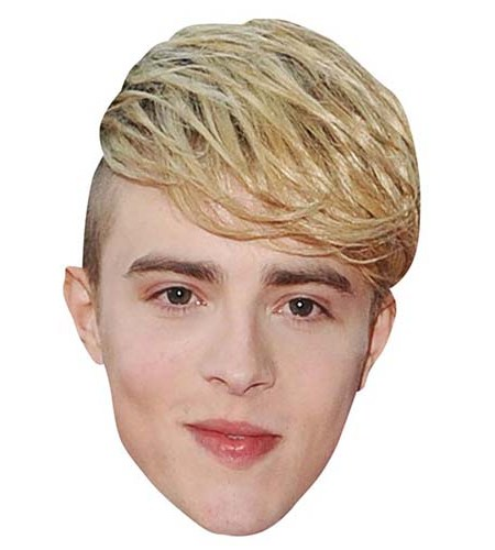 A Cardboard Celebrity Mask of Edward Grimes