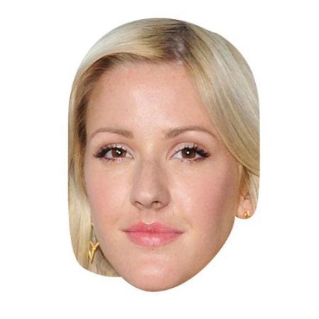 A Cardboard Celebrity Big Head of Ellie Goulding
