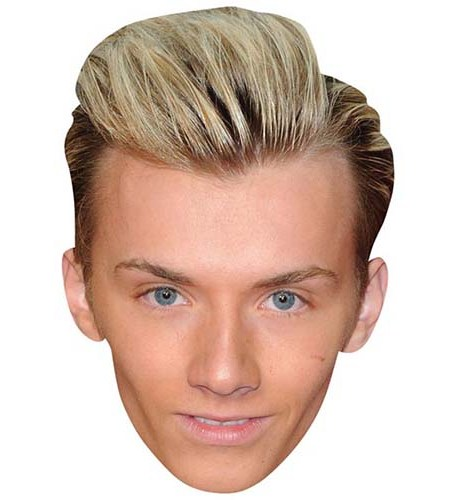 A Cardboard Celebrity Big Head of Harry Derbidge