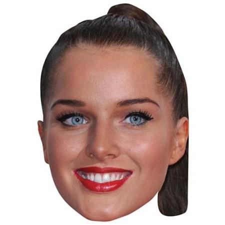 A Cardboard Celebrity Big Head of Helen Flanagan