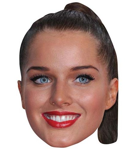 A Cardboard Celebrity Big Head of Helen Flanagan