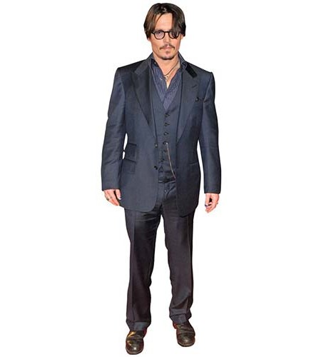Johnny Depp Black Jacket Cardboard Cutout