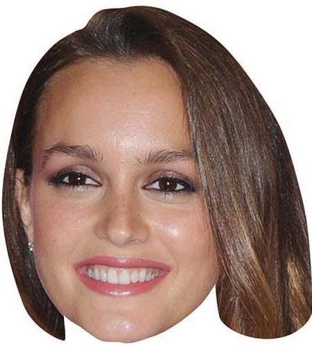 A Cardboard Celebrity Big Head of Leighton Meester