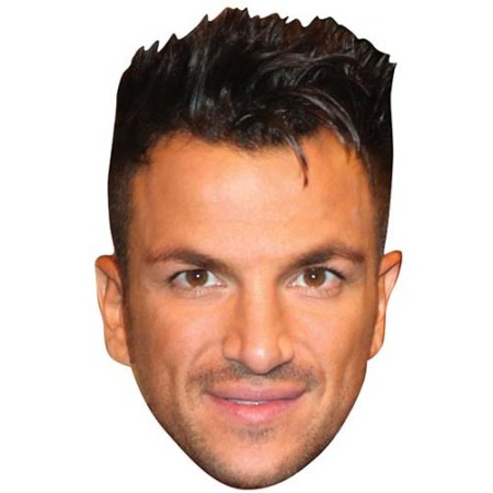 A Cardboard Celebrity Big Head of Peter Andre
