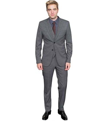 Robert Pattinson Cutout A Lifesize Cardboard Cutout of wearing a grey suit