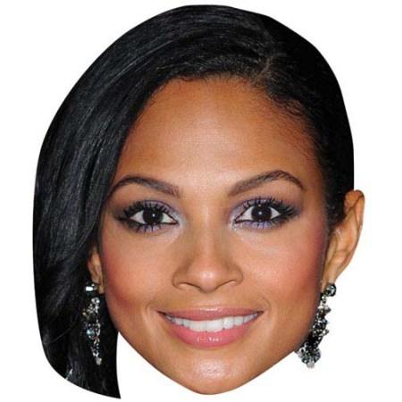 A Cardboard Celebrity Big Head of Alesha Dixon