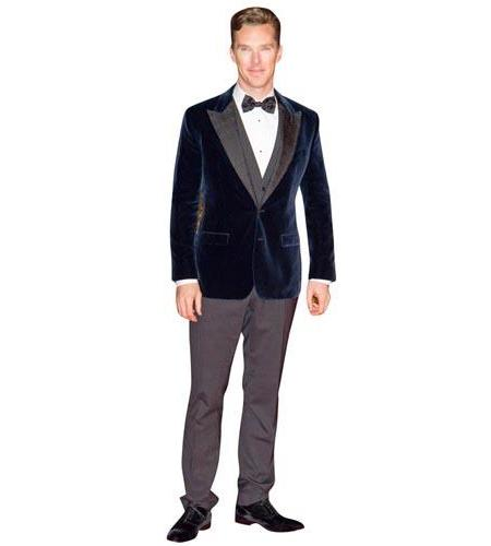 Benedict Cumberbatch (Blue Jacket) Cutout