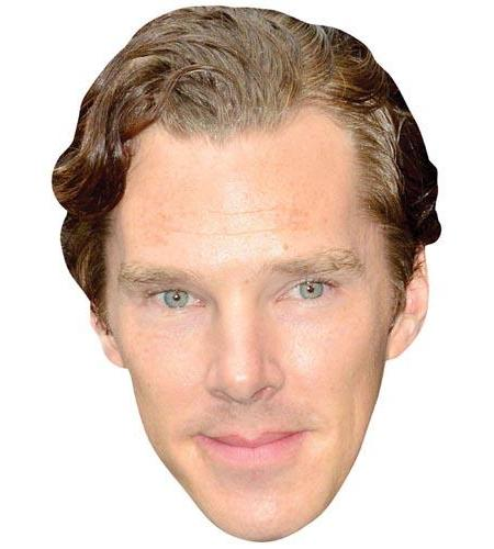 A Cardboard Celebrity Big Head of Benedict Cumberbatch