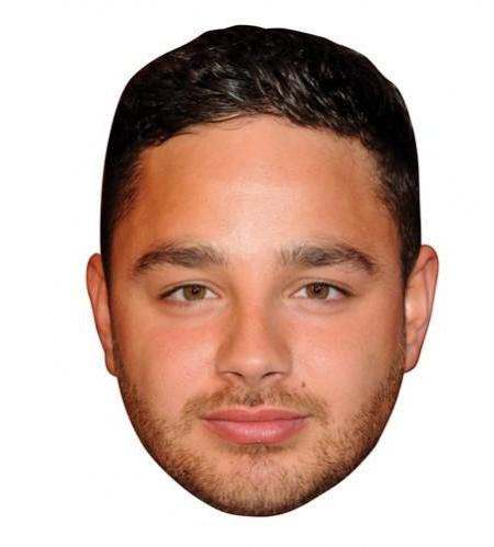 A Cardboard Celebrity Big Heads of Adam Thomas