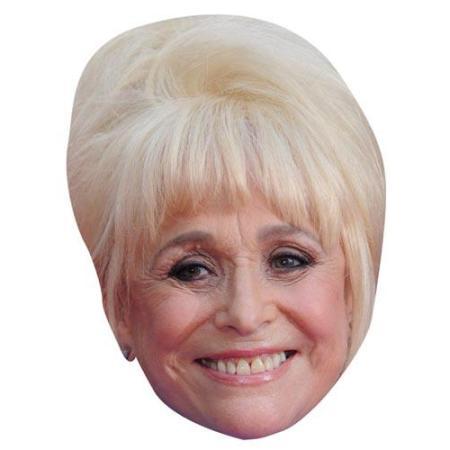 A Cardboard Celebrity Big Head of Barbara Windsor