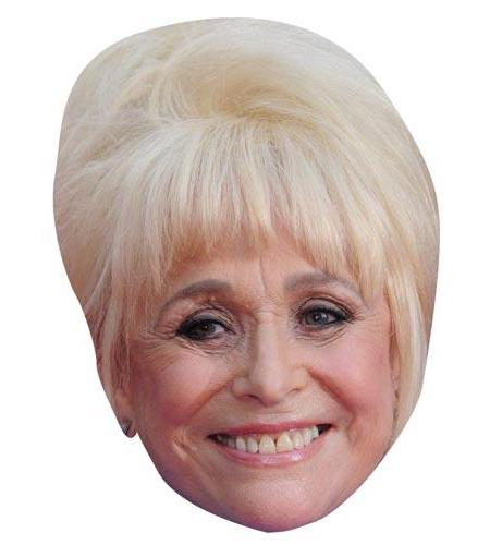 A Cardboard Celebrity Big Head of Barbara Windsor