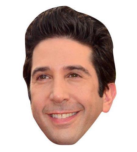 A Cardboard Celebrity Big Head of David Schwimmer