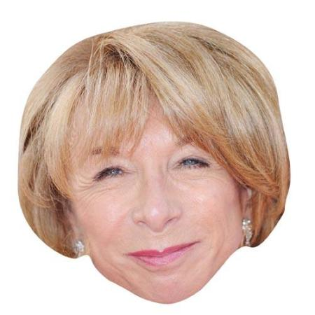 A Cardboard Celebrity Big Head of Helen Worth