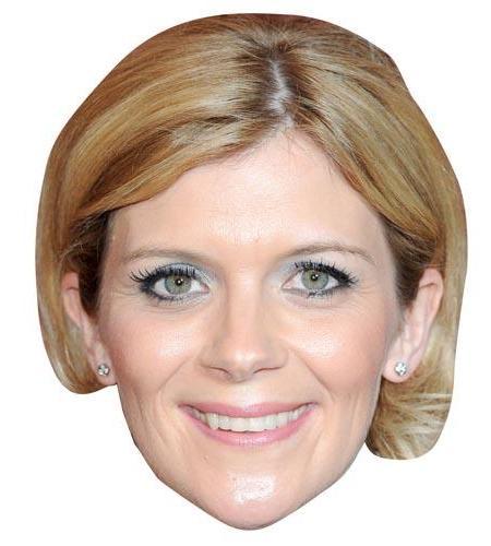 A Cardboard Celebrity Big Head of Jane Danson