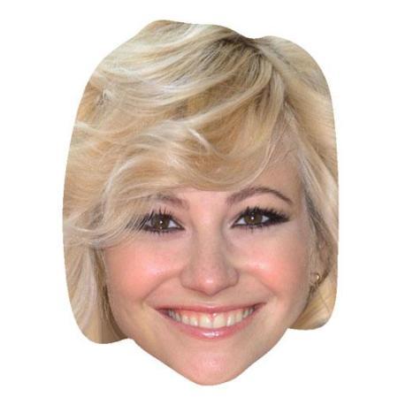A Cardboard Celebrity Big Head of Pixie Lott