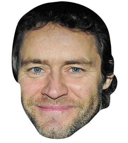A Cardboard Celebrity Big Head of Howard Donald