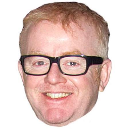 A Cardboard Celebrity Big Head of Chris Evans