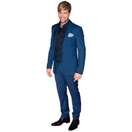 Cardboard Cutout of Kian Egan wearing a suit