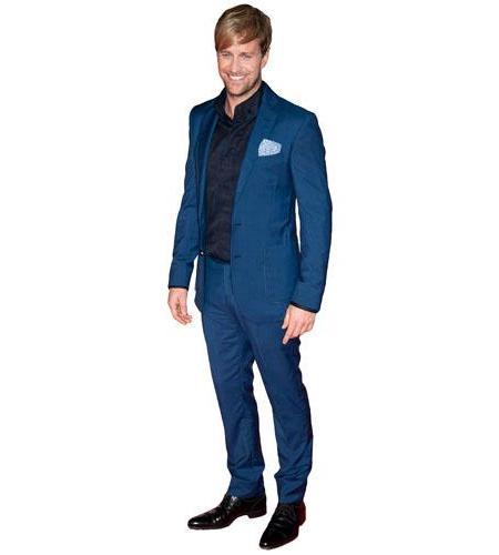 Cardboard Cutout of Kian Egan wearing a suit
