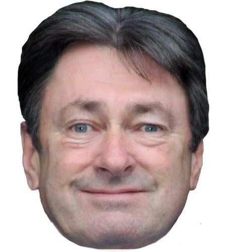 A Cardboard Celebrity Big Head of Alan Titchmarsh