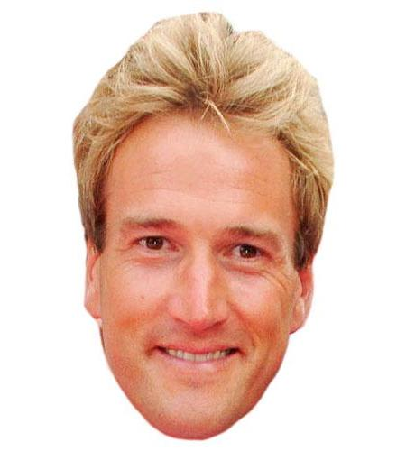 A Cardboard Celebrity Ben Fogle Big Head-celebrity-Big Head