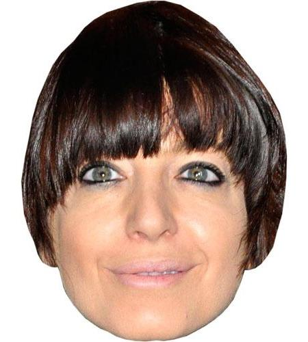 A Cardboard Celebrity Claudia Winkleman Big Head