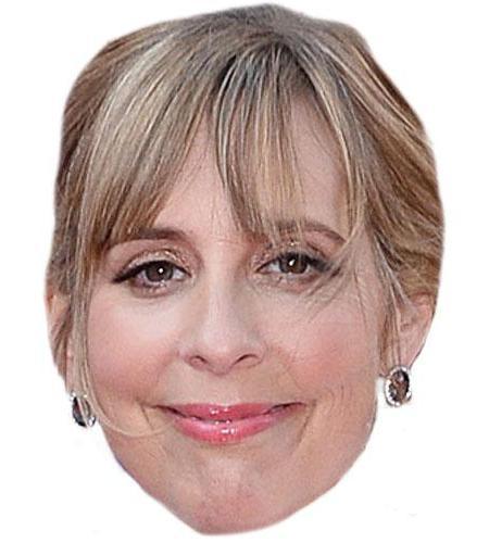 A Cardboard Celebrity Mel Giedroyc Big Head