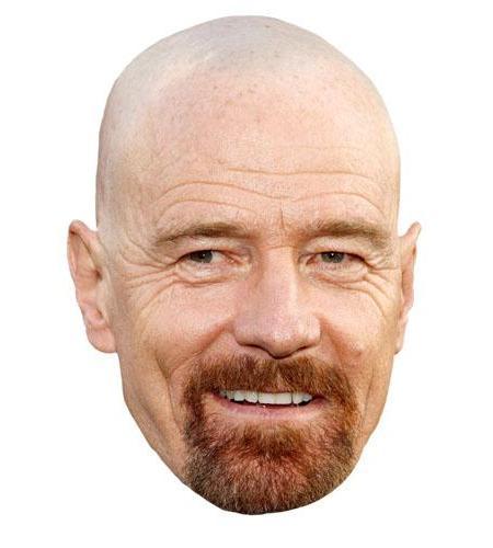 A Cardboard Celebrity Bryan Cranston Big Head