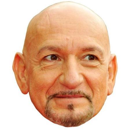 A Cardboard Celebrity Ben Kingsley Big Head