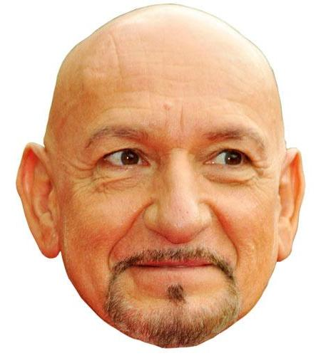 A Cardboard Celebrity Ben Kingsley Big Head