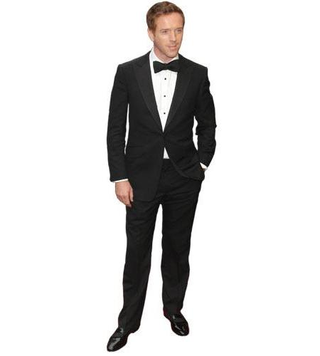 A Lifesize Cardboard Cutout of Damian Lewis wearing a dinner suit