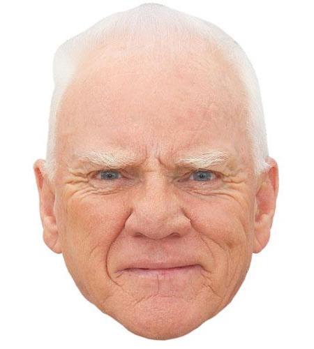 Malcolm McDowell Celebrity Mask