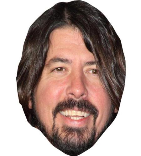 A Cardboard Celebrity Big Head of Dave Grohl