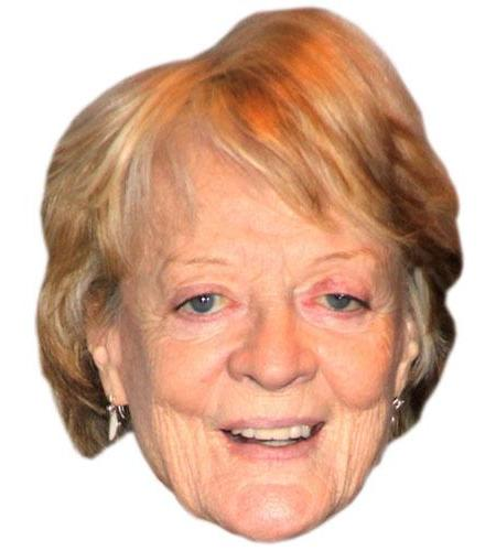 A Cardboard Celebrity Maggie Smith Big Head
